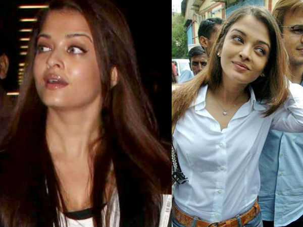 25 Aishwarya Rai Without Makeup And With Light Makeup ...