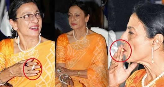 Bollywood Actresses Chain Smokers