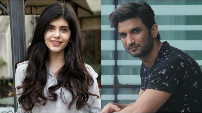 Sushant Singh Rajput Helps His Co-Star Sanjana Sanghi Kizie Aur Manny