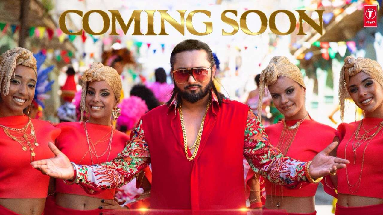 Honey Singh New Music Video First Look